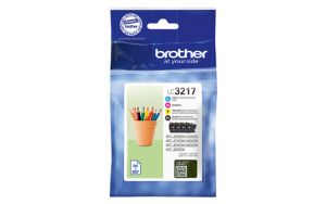 TechLogics - Brother LC-3217 Value Pack 550 pagina's (Origineel)