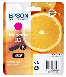 TechLogics - Epson T3343 Magenta 4,5ml (Origineel)