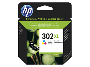 TechLogics - HP No.302XL Kleur 8ml (Origineel) F6U67AE