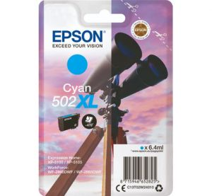 TechLogics - Epson 502XL Singelpack Cyaan 6,4ml (Origineel)
