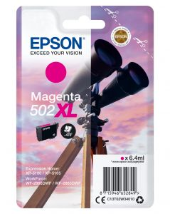 TechLogics - Epson 502XL Singelpack Magenta 6,4ml (Origineel)