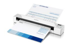TechLogics - Brother DS-820W Documentscanner mobiel / WLAN / Wit