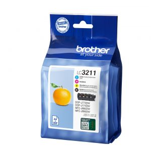TechLogics - Brother LC-3211VAL Value Pack 14,2ml (Origineel)