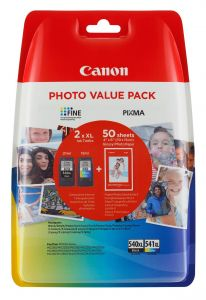 TechLogics - Canon (M) PG-540XL/CL-541XL Value Pack 36,0ml (Origineel