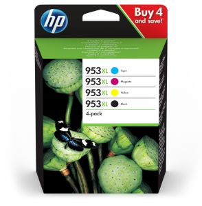 TechLogics - HP No.953XL 4-Pack C,M,Y,K 104,0ml (Origineel)
