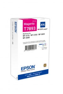 TechLogics - Epson T7893 XXL Magenta 34,2ml (Origineel)