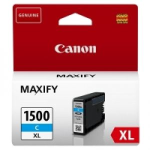 TechLogics - Canon (D) PGI-1500XL C Cyaan 12,0ml (Origineel) [1]